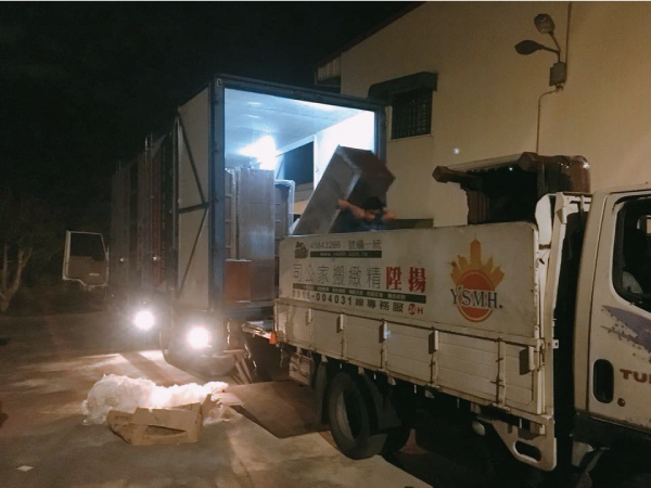 大型貨櫃傢具搬遷-台中搬家推薦