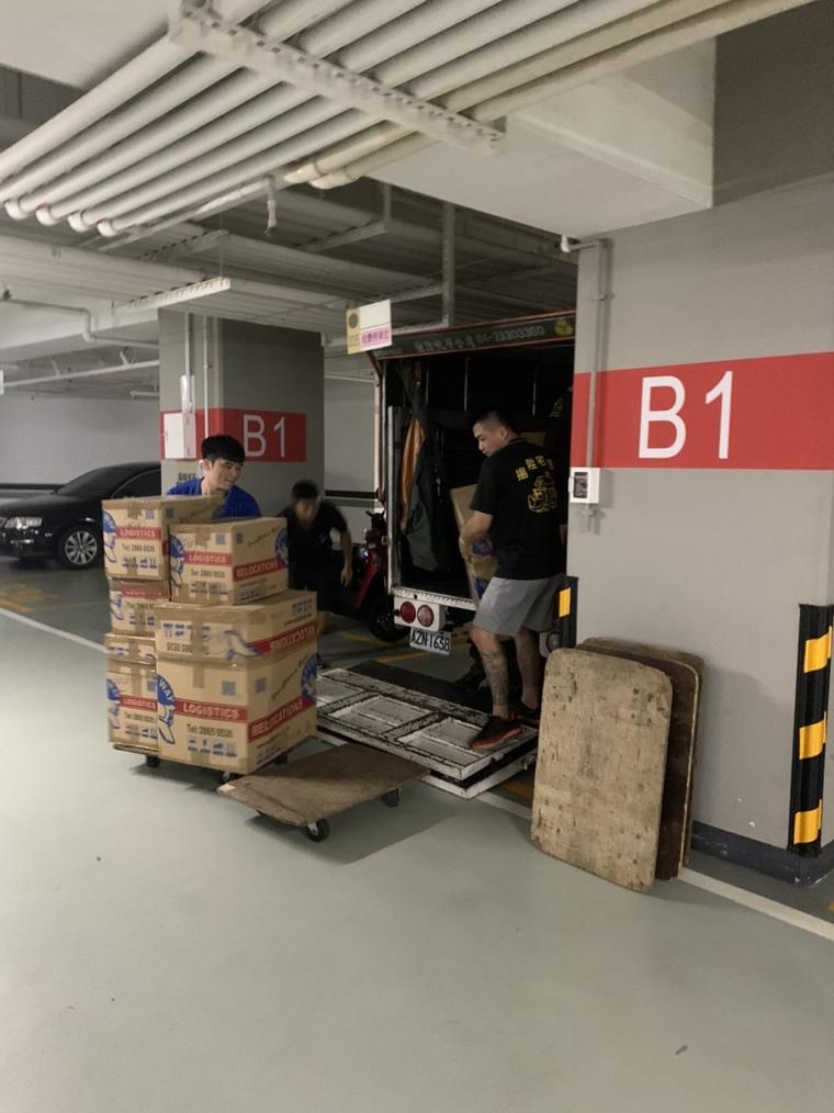 物品卸貨-台中精緻搬家