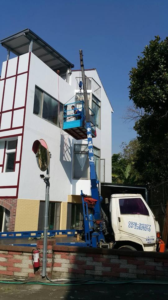 吊車吊掛服務-台中搬家案例