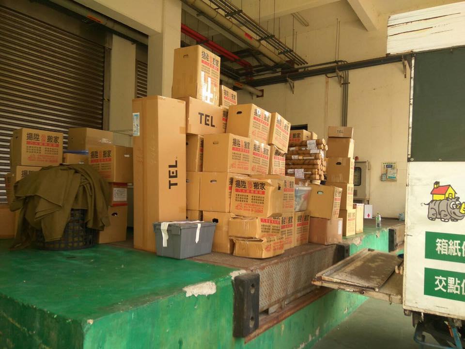 整齊擺放的搬運物品-台中搬家